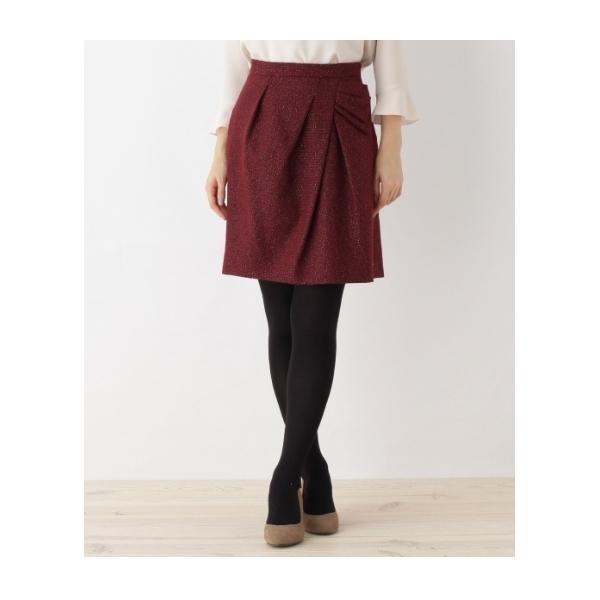 【WEB限定サイズ(SS・LL)あり】ブッチャーラメコクーンスカート