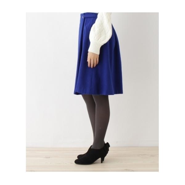 【WEB&一部店舗限定販売】ラップ風フレアスカート