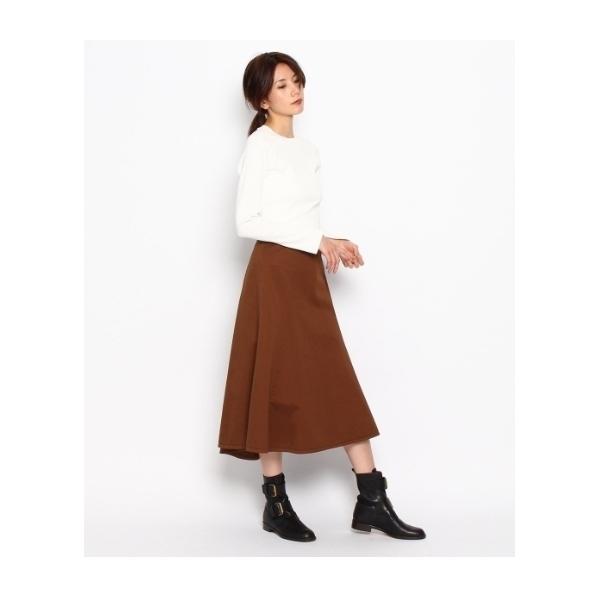高密度ギャバ 製品染めスカート