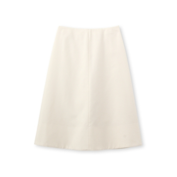シルクスラブ Aラインスカート