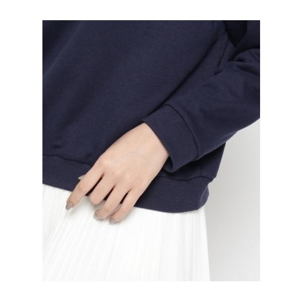 ボタニカル刺繍×パールプルオーバー
