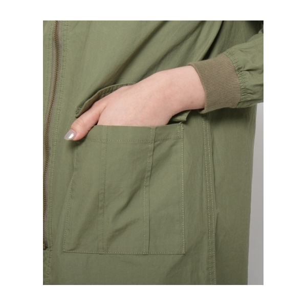 MA-1ロングジャケット