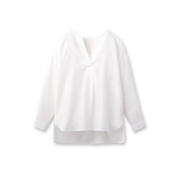 [L]モダンブロードスッキパーシャツ