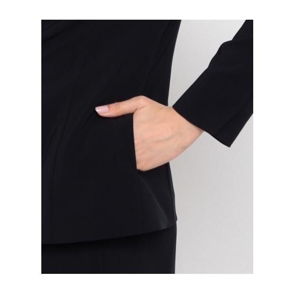 【ウォッシャブル】[L]一つ釦テーラードジャケット