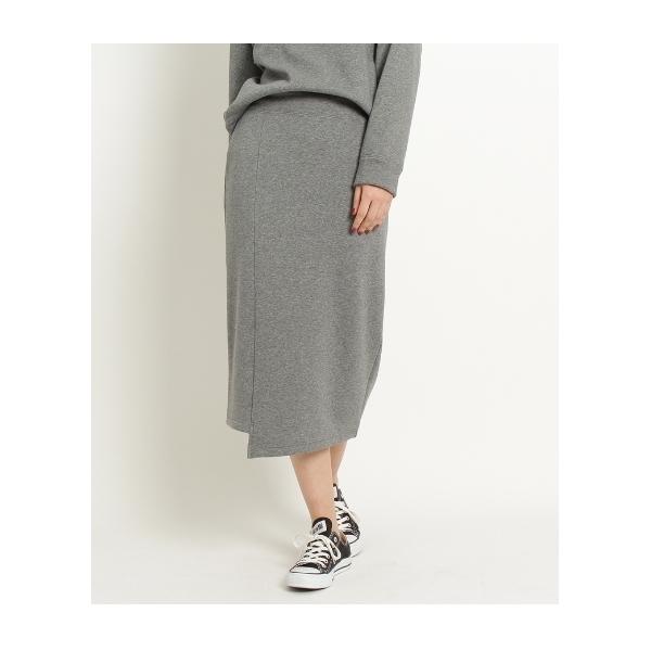 ストレッチスウェットタイトスカート