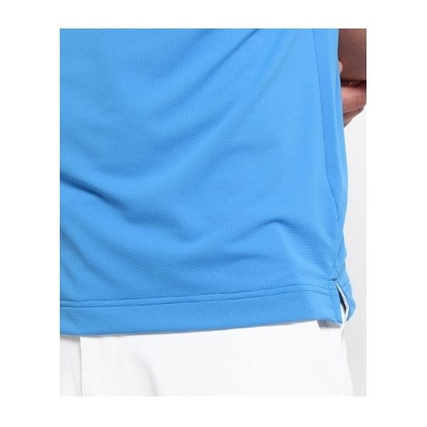 カラットワッフル半袖ポロシャツ