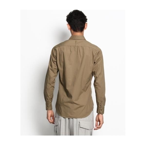 カラーポプリン シャツ