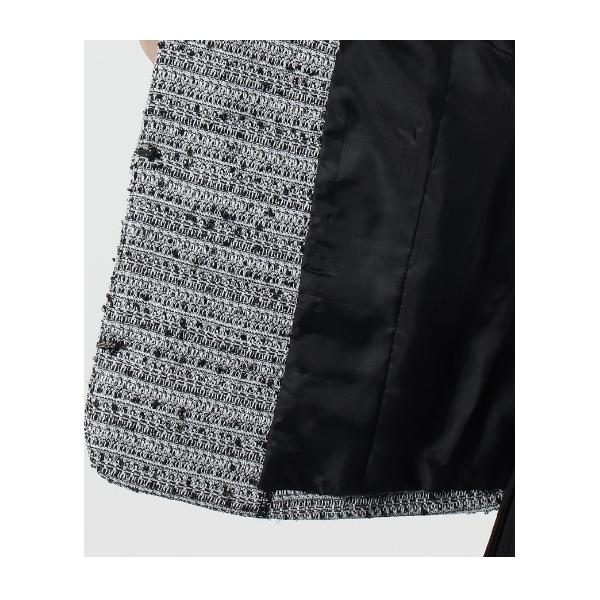 【WEB限定サイズ】モールラメツイードジャケット