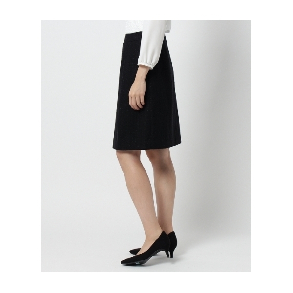 【WEB限定サイズ】ラメツイードスカート