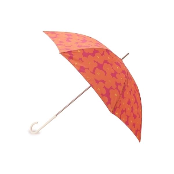 フラワープリント長傘(晴雨兼用)