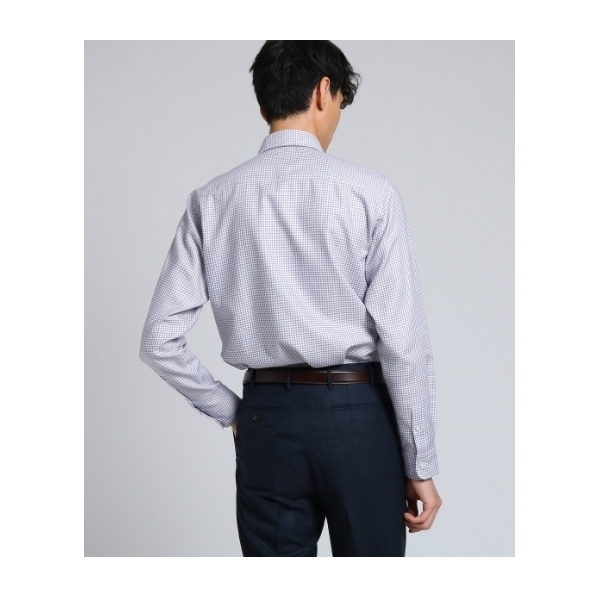 79ae4604f83ef6 ... タッタソールカルゼワイドカラーシャツ [ メンズ シャツ ビジネス ] ...