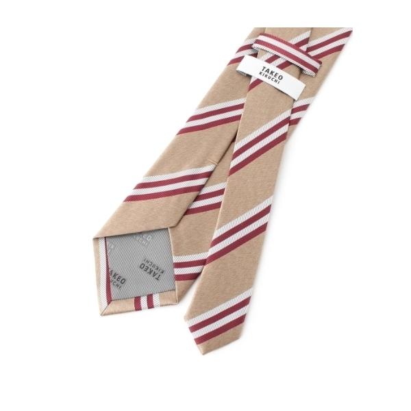 6色メランジサテンストライプネクタイ