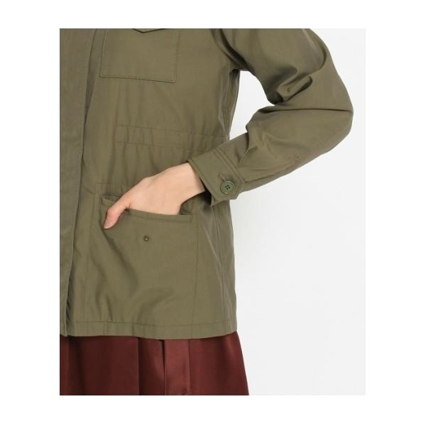[L]ダブルポケットミリタリージャケット