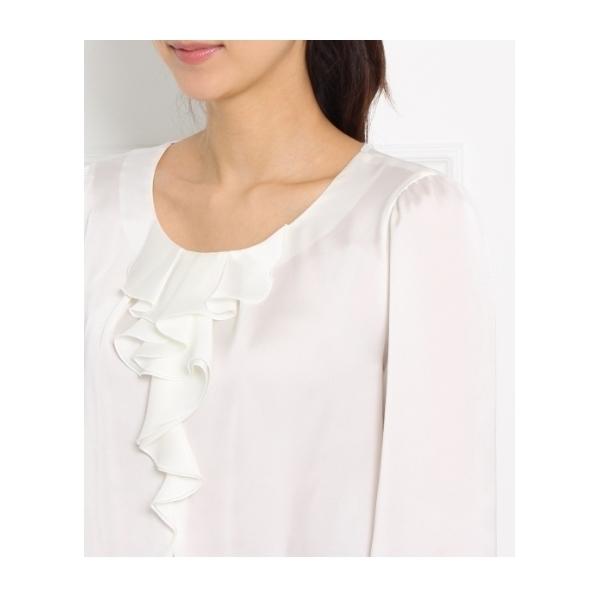 [L]ライトサテンシャツ
