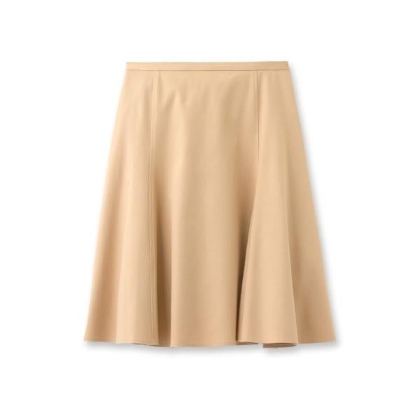 [L]ストレッチサーキュラースカート