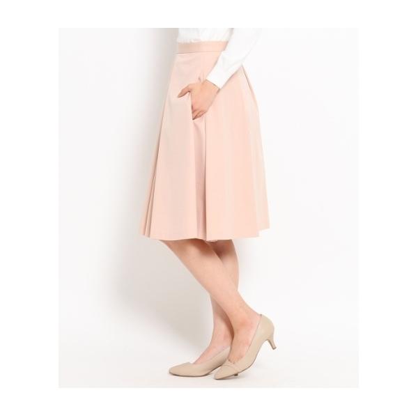 [L]〔洗える〕ボックスプリーツスカート