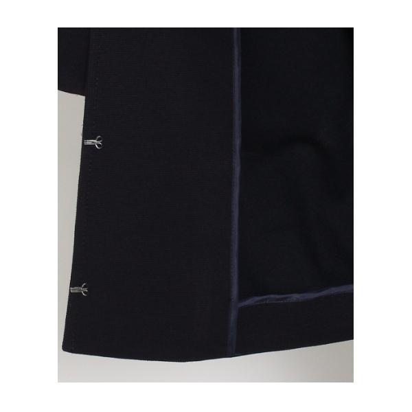 ◆〔洗える〕ネオウォッシュパールノーカラージャケット