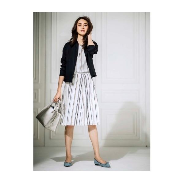 〔洗える〕【WEB限定色あり】サテンストライプスカート