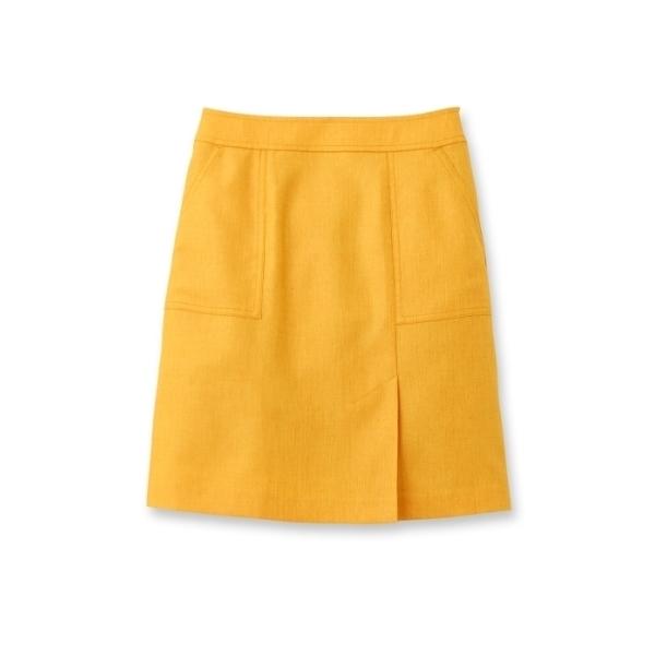 〔洗える〕スラブオックススカート