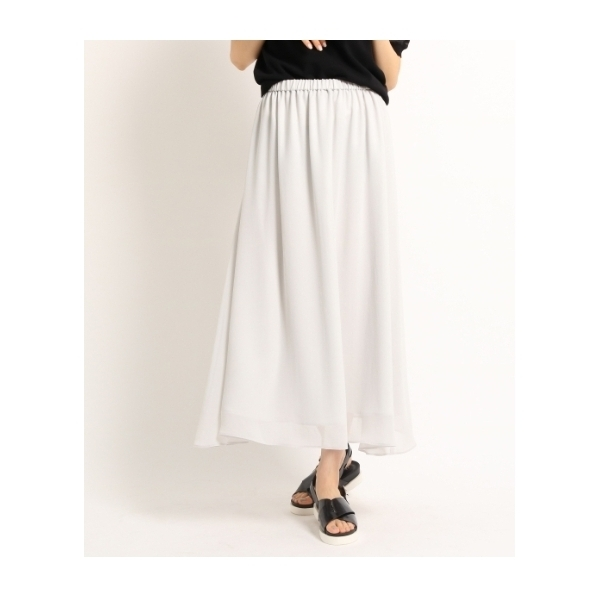 [S]【WEB限定】ヴィンテージ シフォンスカート