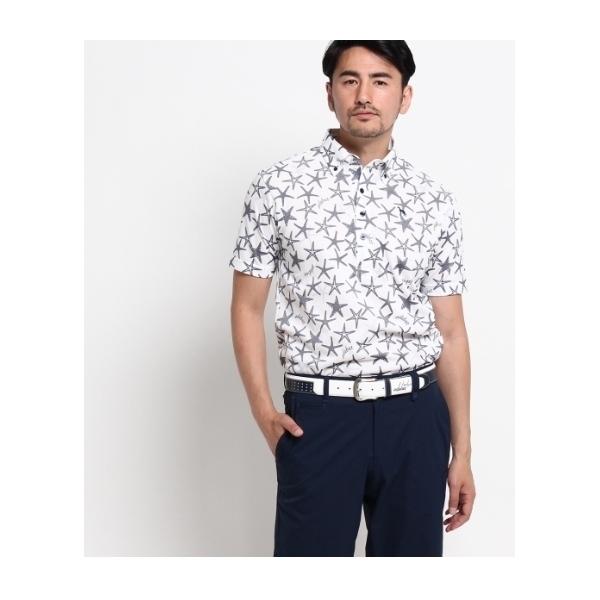 ヒトデボタンダウンポロシャツ