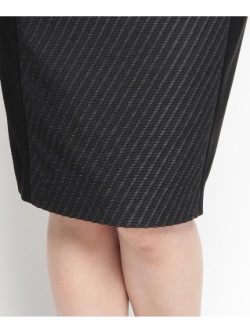 ジャカードサテン切り替えスカート