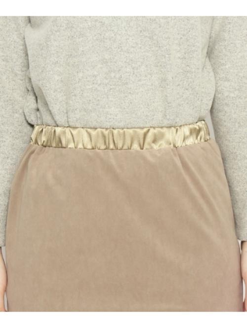 フェイクスェードタイトスカート