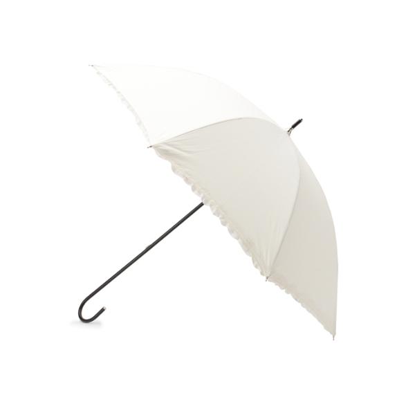 ◆遮光ヒートカットフリル長傘(晴雨兼用)