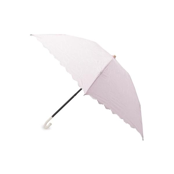 ◆フローラルステッチ折り畳み傘(晴雨兼用)