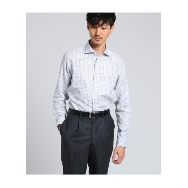 ee0824c4d0b336 LOHACO - タッタソールカルゼワイドカラーシャツ [ メンズ シャツ ...
