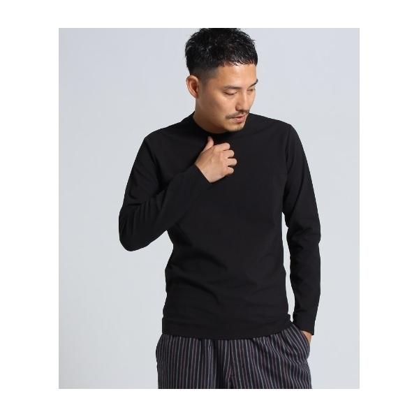 8456321187ddcf LOHACO - コットンナイロンポンチロンT[ メンズ Tシャツ カットソー ...