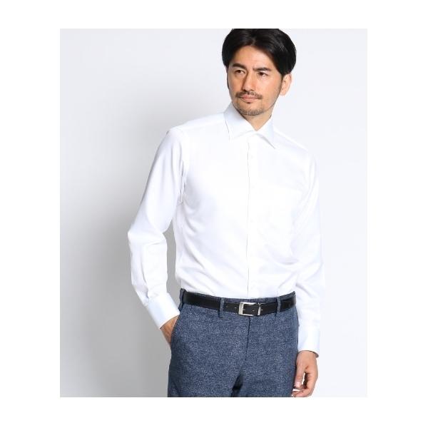 bcb4d6f1d5ccb3 【 洗える 】 カルゼスーパードライシャツ [ メンズ シャツ ビジネス クールビズ ]