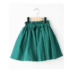 【インパンツ付】ピーチ素材カラースカート
