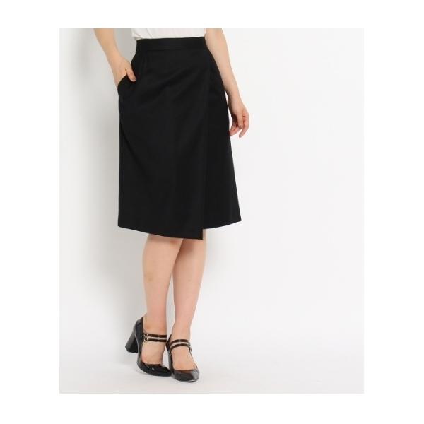 サキソニーラップ風スカート