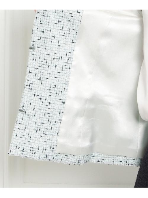 [L]ロリエフツイードジャケット