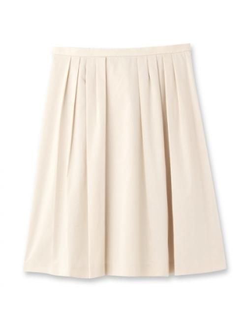 [L]グログランタックフレアスカート