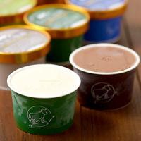 【7/24~29出荷】《送料無料》中洞牧場カップアイス お試し6個セット (ミルク味×2個、ヨーグルト×1個、抹茶×1個、和胡桃×1個、チョコ味×1個)
