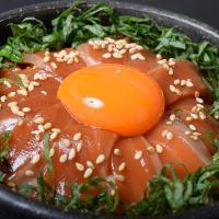 【9/25~30出荷】本田水産が作る「金華銀鮭のお刺身漬け丼」 70g×3食 ※冷凍/送料無料