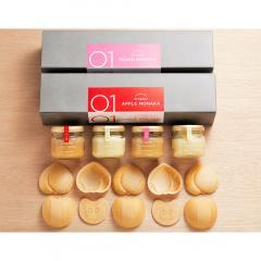 送料無料【10/22~27出荷】ORAGENO FRUITS MONAKA 2種セット 合計1箱 ※産地直送・常温