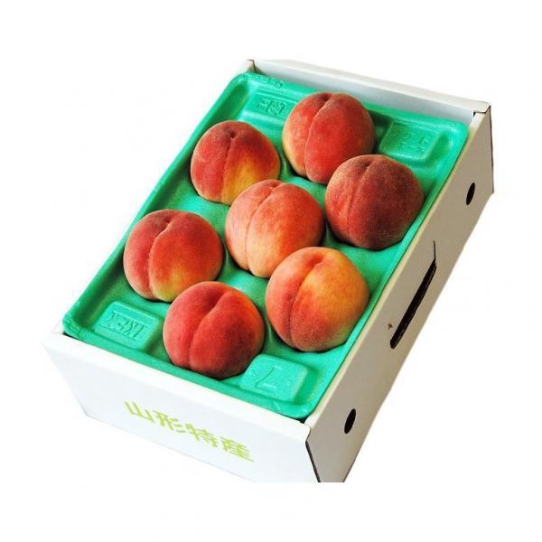 送料無料 【完売】果樹王国・山形県のフルーツのプロ・伊藤さんが選ぶ「旬の桃」約2kg(7~10玉)