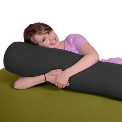 【1~3営業日で出荷予定】Yogibo Roll Mini - ダークグレー / ヨギボー  ロール ミニ / 抱き枕 / マタニティ / ビーズクッション【分納の場合あり】