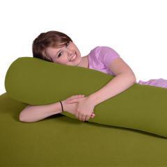 【1~3営業日で出荷予定】Yogibo Roll Mini - ライムグリーン / ヨギボー  ロール ミニ / 抱き枕 / マタニティ / ビーズクッション【分納の場合あり】