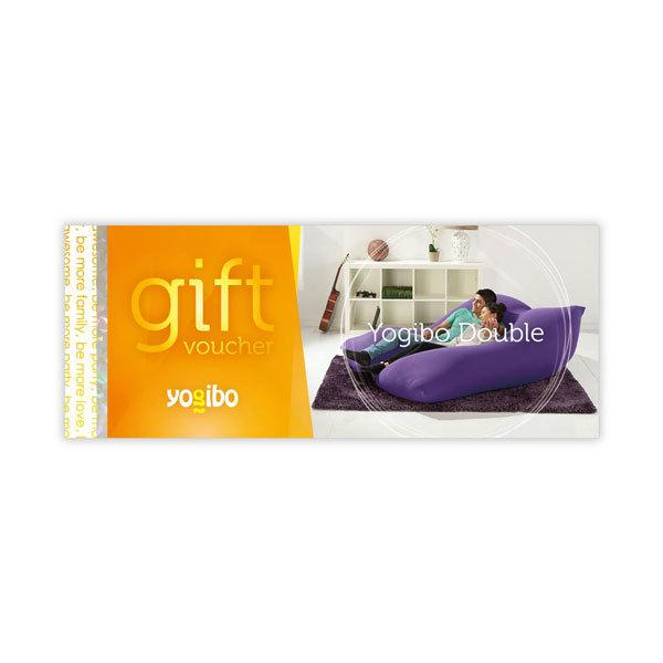 Yogibo Double gift voucher - ギフト券 ヨギボー ビーズクッション プレゼント 贈り物【1~3営業日で出荷予定】【分納の場合あり】