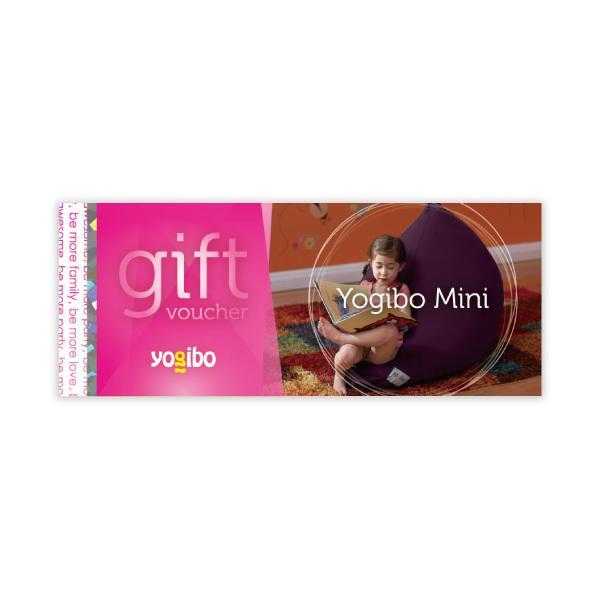 Yogibo Mini gift voucher - ギフト券 ヨギボー ビーズクッション プレゼント 贈り物【1~3営業日で出荷予定】【分納の場合あり】【5%OFFクーポン利用可能】【コード:C2Y150WET】