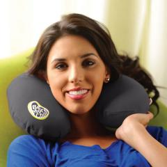 【10%OFF】Yogibo Neck Pillow - ダークグレー ヨギボー ネックピロー ビーズクッション【1~3営業日で出荷予定】【分納の場合あり】