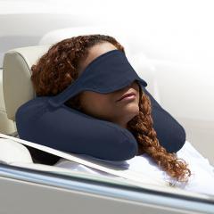 Yogibo Neck Pillow X - ネイビーブルー ヨギボー ネックピロー エックス トラベルグッズ アイマスク【1~3営業日で出荷予定】【分納の場合あり】
