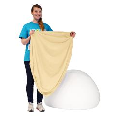 【1~3営業日で出荷】Yogibo Pod Cover- クリームホワイト / ヨギボー ポッド 専用カバー / ソファーカバー / クッションカバー