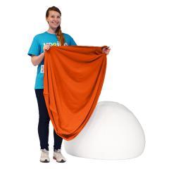 【1~3営業日で出荷】Yogibo Pod Cover- オレンジ / ヨギボー ポッド 専用カバー / ソファーカバー / クッションカバー