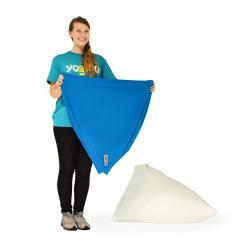 【1~3営業日で出荷】Yogibo Pyramid Cover- アクアブルー / ヨギボー ピラミッド 専用カバー / ソファーカバー / クッションカバー