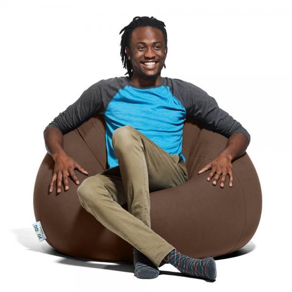 Yogibo Pod(ポッド) - チョコレートブラウン ヨギボー ポッド 快適すぎて動けなくなる魔法のソファ ビーズソファー ビーズクッション 1人掛けソファ【1~3営業日で出荷予定】【受注生産品】【分納の場合あり】